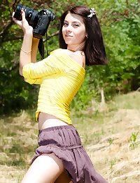 Hot camera girl